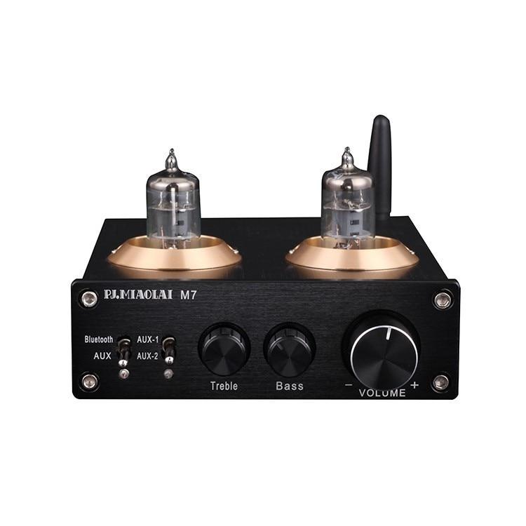 Nuevo M7 BTM625 Bluetooth 5,0 6J1 tubo de vacío preamplificador unirse al DAC ESS9023 estéreo de alto y bajo tono de audio HiFi pre amplificador-in Amplificador from Productos electrónicos on AliExpress - 11.11_Double 11_Singles' Day 1