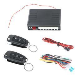 VODOOL Car Alarm Auto Remote Control Central Locking Door Kit Keyless Entry System for Universal Car Burglar Alarm High Quality