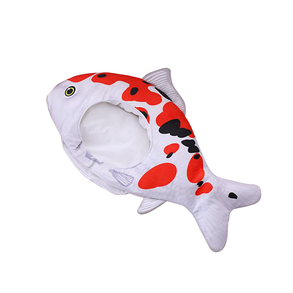 1 Pc Headwear Cosplay Nette Cartoon Einstellbar Lustige Zubehör Kostüm Foto Requisiten Fisch Hut Für Erwachsene Kinder GläNzend
