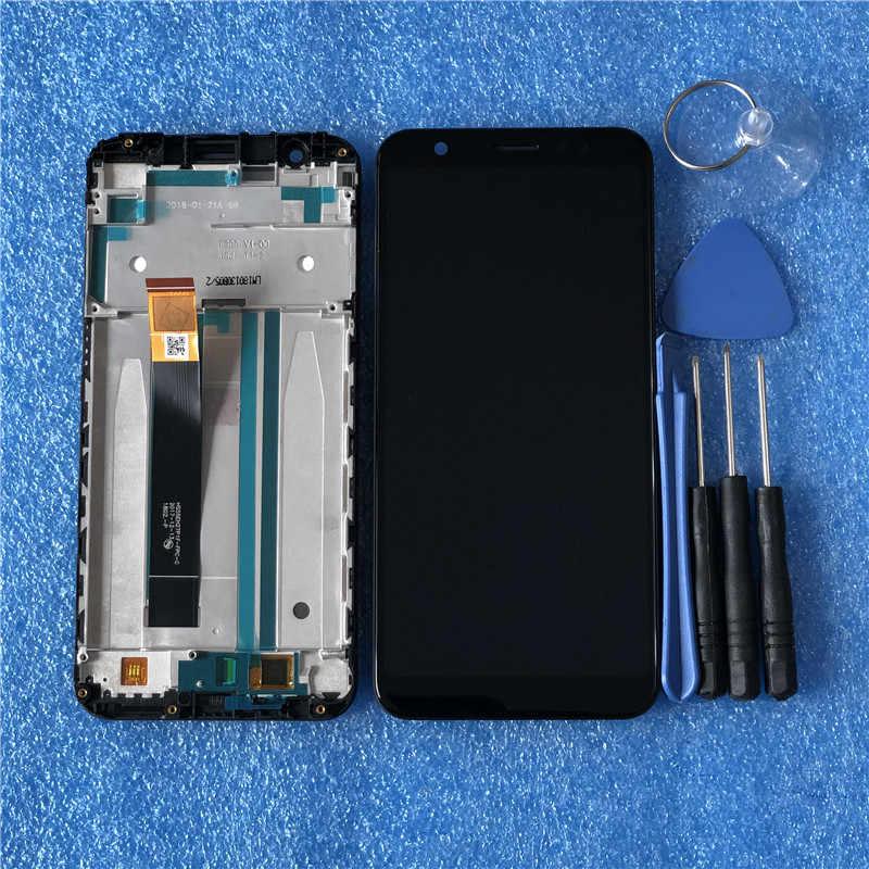 "Axisinternational ため 5.5 ""Asus の Zenfone 5 最大 M1 ZB555KL 液晶表示画面 + タッチ ScreenPanel ZB555KL 用 Lcd フレーム"