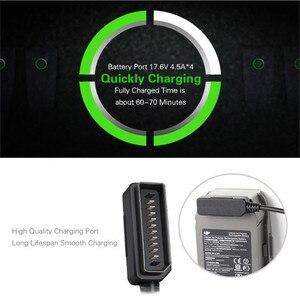 Image 3 - Moyeu de chargeur 6 en 1 pour chargeur rapide de batterie Mavic 2 DJI Mavic 2 accessoires de chargeur de Drone de moyeu de charge parallèle Pro/Zoom