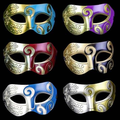MENS MALE Roman Gladiator Masquerade Mask Venetian Costume Party Fancy Dress New Party Dancing Roman Mask Nightclub Mask