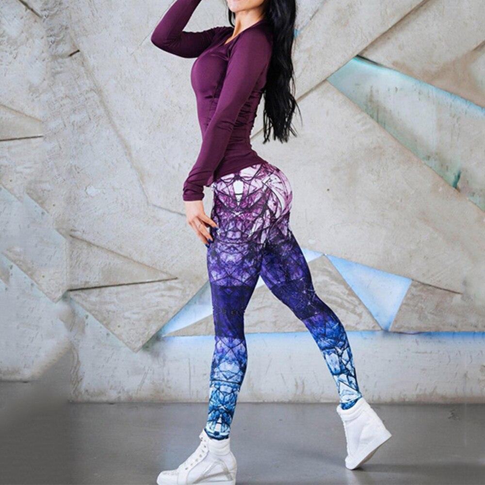 Леггинсы для бега лосины-стрейч, брюки Летающая Йога Высокая талия эластичные тонкие брюки спортивные фитнесс леггинсы в обтяжку