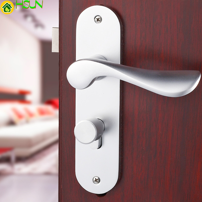 European Space Aluminum White Hand Lock Indoor Door Hold Hand Lock Bedroom Lock Wooden Doors LockEuropean Space Aluminum White Hand Lock Indoor Door Hold Hand Lock Bedroom Lock Wooden Doors Lock