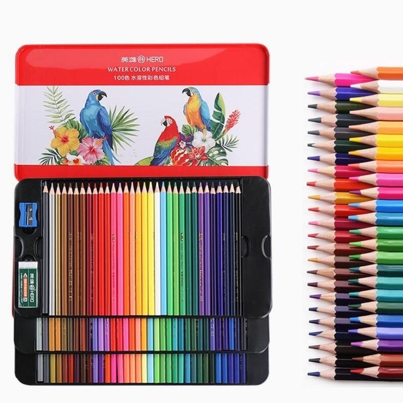 Colors Watercolor Pencils Art Supplies