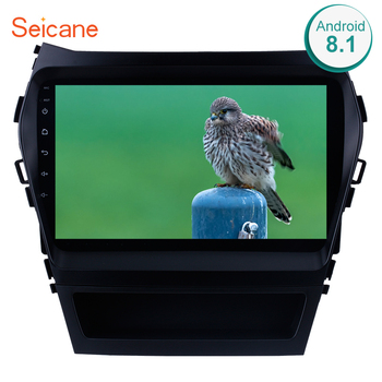Seicane 2Din Android 8.1 9 Inch Car Radio For 2013 2014-2017 Hyundai IX45 SantaFe Stereo Touchscreen Head Unit Multimedia Player image