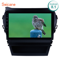 Seicane 2Din Android 8.1 9 Inch Car Radio For 2013 2014 2017 Hyundai IX45 SantaFe Stereo Touchscreen Head Unit Multimedia Player