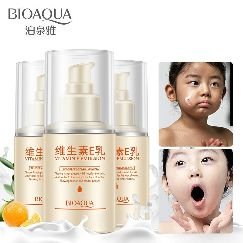 BIOAQUA Vitamin E Nourishing Body Lotion Body Cream Skin Care Anti Chapping Anti Aging Moisturizing Whitening Cream Body Care