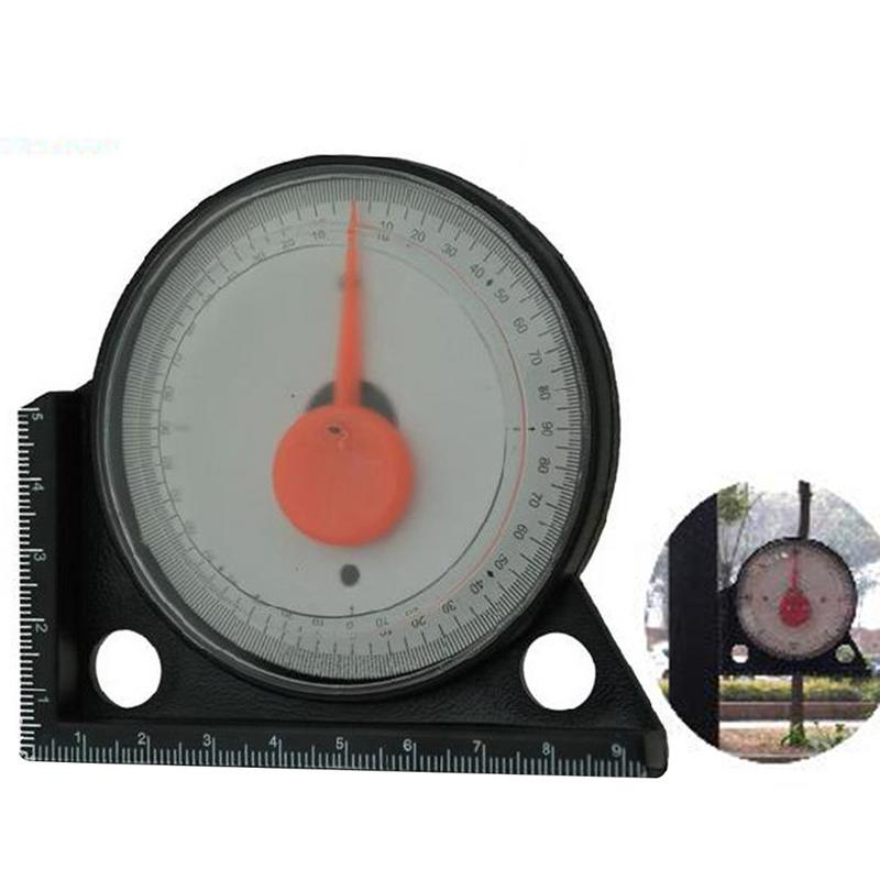 Horizontal Angle Gauge Pointer Angle Gauge Inclinometer Goniometer With Black Magnetic Base