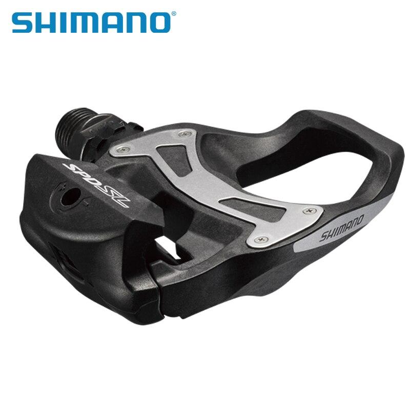 SHIMANO R550 route pédales de vélo SPD-SL Auto-Verrouillage SPD Pédales Composants En Utilisant pour Vélo Racing PD-R550 PD-R540 Pédales - 6