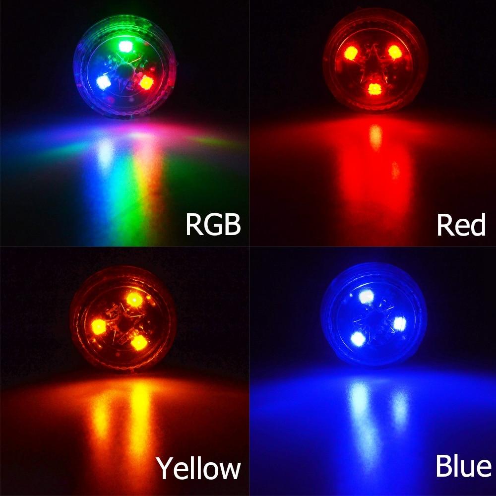 2pcs Car LED Door Warning Anti-collision Light Wireless Alarm Lamp Universal
