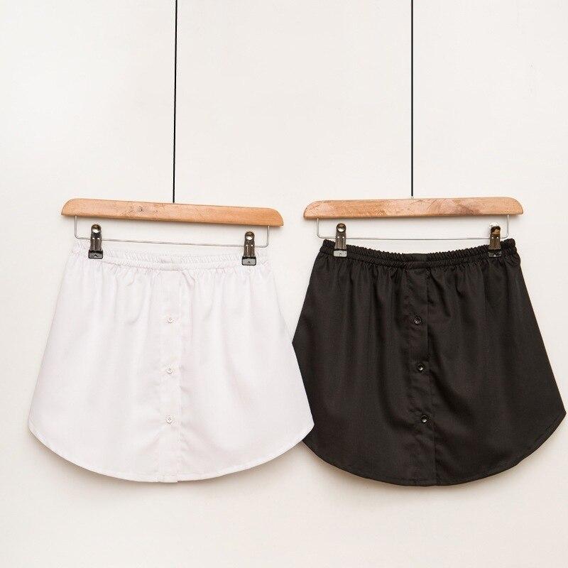 Summer A Shirt False Mini Skirt Show Thin Short Skirt Half-body Befree Skirts