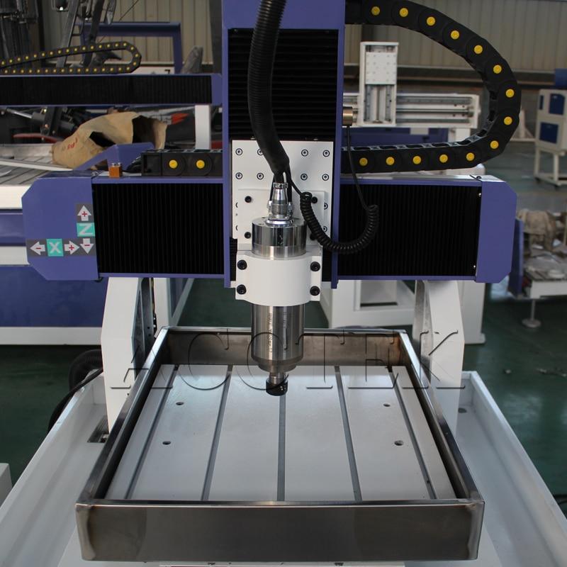 4040 6060 métal CNC routeur moule machine haute vitesse CNC fraiseuse, CNC modèle faisant la machine avec CE