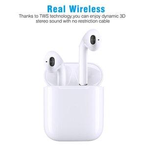 Image 2 - 새로운 i9s tws 미니 블루투스 이어폰 스테레오 이어폰 무선 이어폰 헤드셋 아이폰 안드로이드에 대한 무선