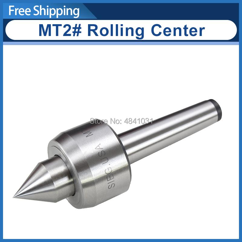 MT2# Rolling Center/Active top/Active thimble/SIEG S/N:10024 C6/SC6/C4/SC4/C6B/C8/SC8/SM4/M6/SM6/M8/SM8 Live center