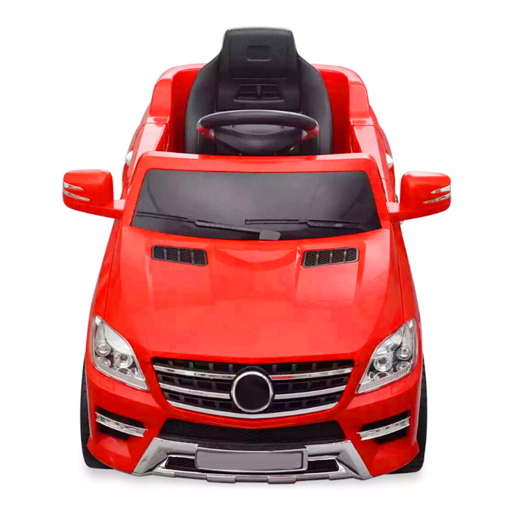 Vidaxl 6 V 4 AH Mercedes Benz ML350 Color Shiny Red Rechargeablle Electric Car Plastic Flexible And Safe Children Car Toy