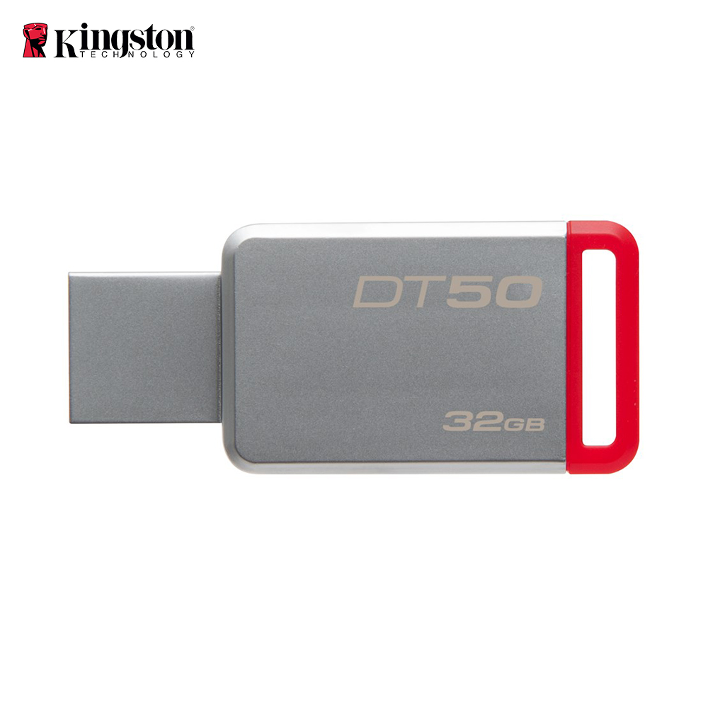<font><b>Kingston</b></font> DT50 <font><b>32GB</b></font> <font><b>USB</b></font>-Stick <font><b>USB</b></font> 3.0-Stick Stick Metall Stift Stick image