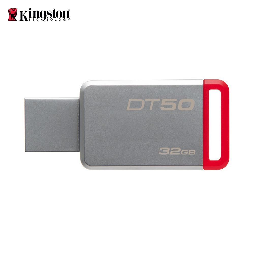 Kingston DT50 32GB USB Flash Drive 3.0 Stick Metal Pen