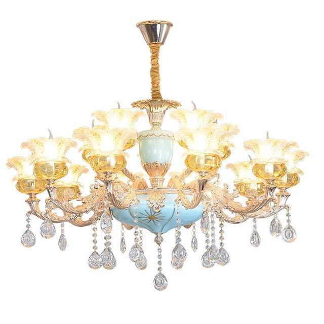 Light Techo Crystal Quarto Lampara Colgante Suspendu Suspension Luminaire Lustre E Pendente Para Sala De Jantar Hanging Lamp