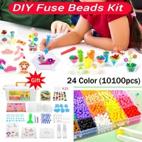 10100PCS 3D Puzzle Toys Water Mist Magic Bead Diy Craft for Animal Molds DIY Hand Making Puzzles Toys Spell Replenish Beans