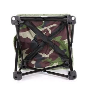 Image 4 - NHBR Mini taşınabilir katlanır tabure katlanır kamp taburesi açık katlanır sandalye barbekü kamp balıkçılık seyahat yürüyüş bahçe