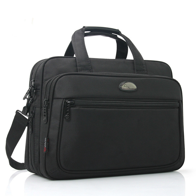 OYIXINGER 2019 Men Handbags Single Shoulder Bag Large Capacity Business Lawyer Briefcase Computer Oxford Cloth Waterproof Bags