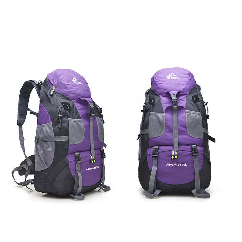 blue Color Sportive purple Color Trekking Outdoor Impermeabile In Color Escursionismo Borsa Cavaliere green Montagna Campeggio Libero 50l Borse Color Red Turista Zaino Arrampicata q1R6nTBW