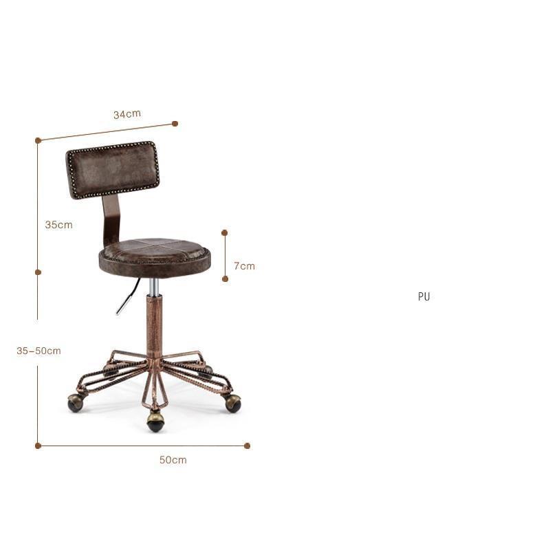 Hair Beauty Cabeleireiro Stuhl Chaise Makeup Fauteuil Cadeira De Barbeiro Furniture Shop Barbershop Salon Silla Barber Chair