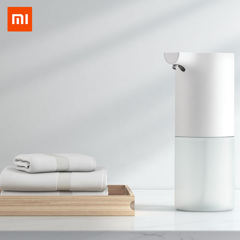 Xiaomi Mijia 320ml Automatic Soap Dispenser Powere by AA Battery Antibacterial Hand Sanitizer Cleaning Hand for Bathroom KitchenXiaomi Mijia 320ml Automatic Soap Dispenser Powere by AA Battery Antibacterial Hand Sanitizer Cleaning Hand for Bathroom Kitchen