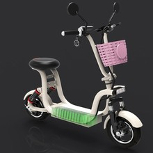 Mini electric bicycle parent-child car small mini folding battery adult men and women