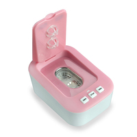 Home New Mini Portable Ultrasonic Cleaner Contact Lens Health Care Cleaning Machine Ultrasonic Cleaner Bath USB Charger