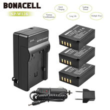 Bonacell 1400mAh NP-W126 NP W126 NPW126 Replacement Battery+Charger for Fujifilm FinePix HS30EXR HS33EXR HS50EXR X-A1 X-E1 L50