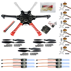 HexaCopter ARF Drone F550 Hex-Rotor FlameWheel Kit + KK 2.3 Flight Controller ESC Motor Propeller F05114-C