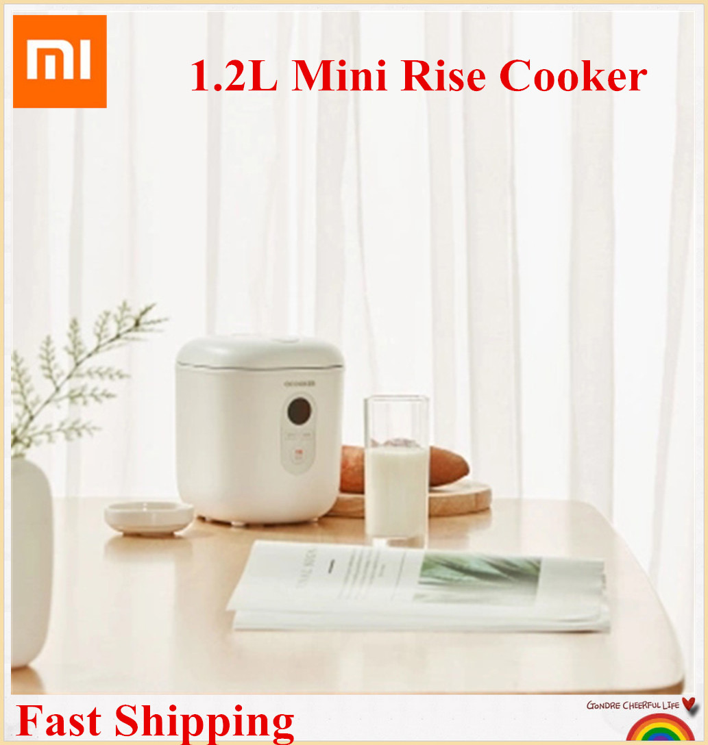 Xiaomi QCOOKER QF1201 Mini 1 2L Rice Cooker 300W Smart 1 2L Kitchen Appliances Reservation LCD