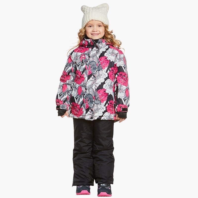 Children's Sets Sweet Berry Sewing set for girls: jacket, trousers children clothing bionic camouflage hunting clothing 4pcs set jacket pant gloves cap suspenders suitable for spring autumn winter hunting suits