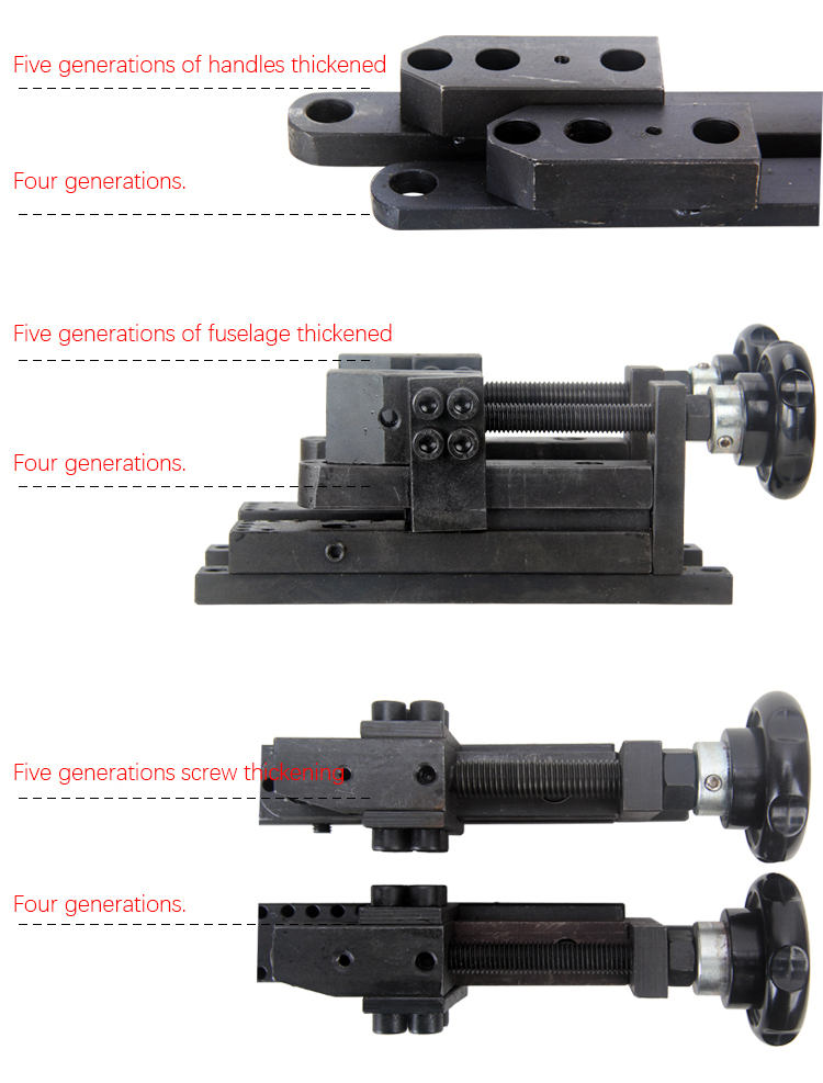 Free Shipping!S/N:20012 Four generations PLUS Universal Bender/SIEG Bending machine/Update Bend machine/Manual Bender