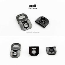 Ganchos de bisagra plegables de diente de sierra, autofijación, tamaño 13x22mm, 60000 Uds.