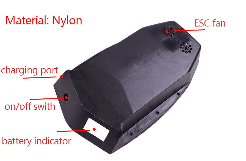 Nylon Battery And ESC Case Battery Cover For Electric Skateboard Longboard For Xiaomi Scooter