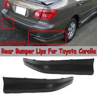 2 шт. заднего бампера Corolla губ Диффузор для Защитные чехлы для сидений, сшитые специально для Toyota Corolla 2003 2004 2005 2006 2007 2008 S стильный, для заднего ...