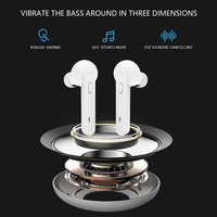 New Tws Wireless Headsets Stereo 5.0 Min Earbuds Noise Cancelling Auto Pair Earphones Handsfree For Iphone Xiaomi Samsung