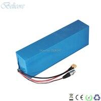 Forte poder de 1000W 1500W 52V 15Ah 17Ah 14S 51.8V li-ion battery pack uso 18650 30Q GA células de alta qualidade com 58.8V carregador 3A