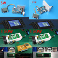 DYKB 5 Вт/15 Вт/30 Вт/50 Вт/150 Вт fm-передатчик PLL стерео аудио 76 МГц-108 МГц частота цифровой ЖК-дисплей вещательная станция приемник