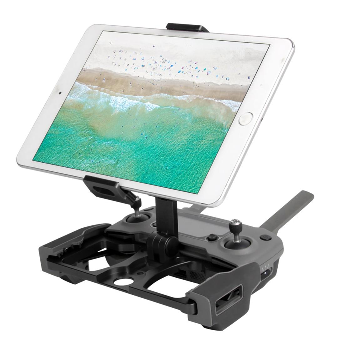 Support de support de tablette de téléphone à télécommande pliable à trois usage pour DJI MAVIC 2 PRO/ZOOM/étincelle/AIR avec pour porte cristal - 6