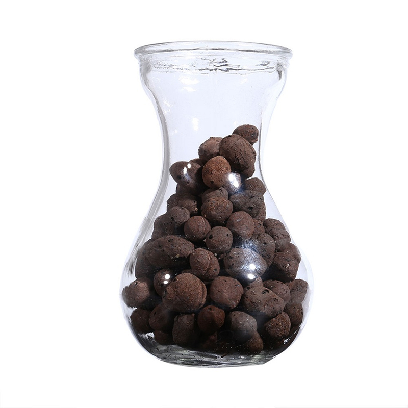 Ceramic Hydroponic Soil Negative ion Pottery Carbon Ball Nutrient Soil 100g Organic Expanded Clay Pebbles for Plant Aquaculture image