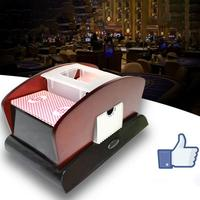 Playing Card Automatic Plastic Card Shuffler 1 2 Deck Poker Sorter Mixer Machine for Party Entertainment