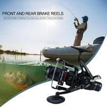 Metal Front Rear Brake Unloading Force Spinning Fish Reel Wh