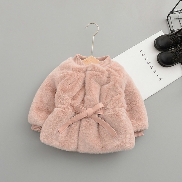 Outerwear & Coats Jackets & Coats Children Clothing 2019 Autumn Winter Girls Clothes Girls Boys Rabbit Pockets Floral Ruched Hooded Zipper Windproof Coat Top#40gy