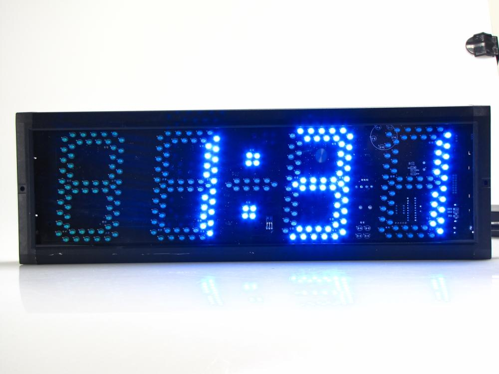 Супер большие цифровые настенные часы светодиодный будильник таймер обратного отсчета пульт дистанционного управления большой номер свет... - 6