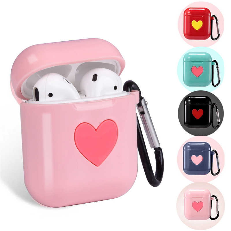 Cute Soft Silicon Case for AirPods Protector Cover Sleeve Colorful Case for Apple Air Pods Wireless Earphone Box Accessories