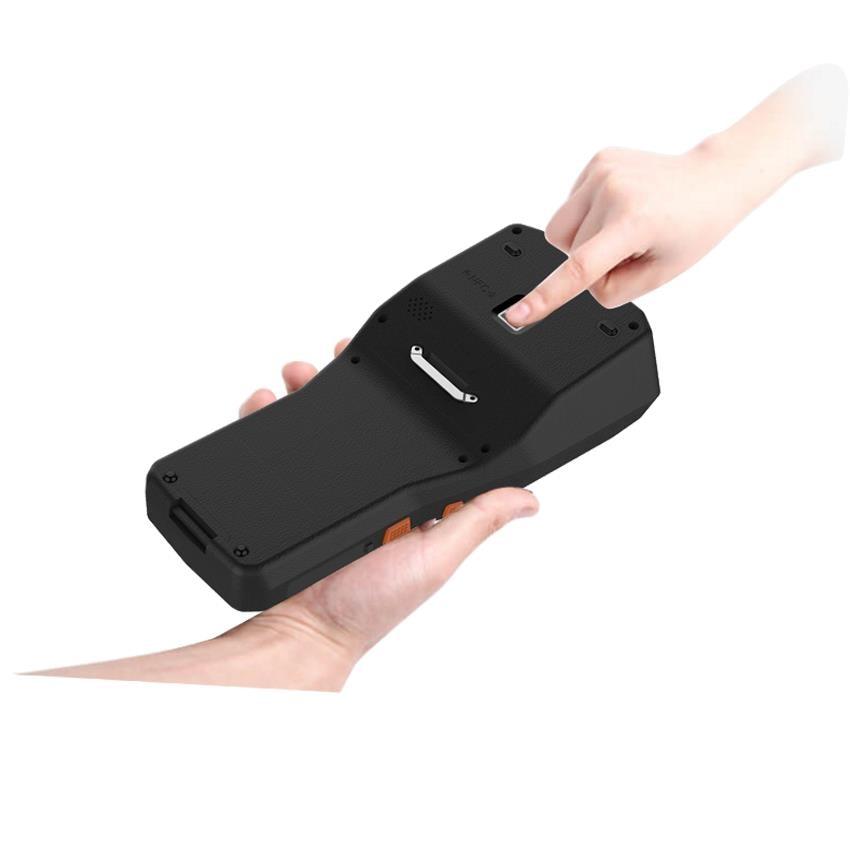 etiquetas com 1d 2d barcode scanner leitor rfid 4g comunicacao 05